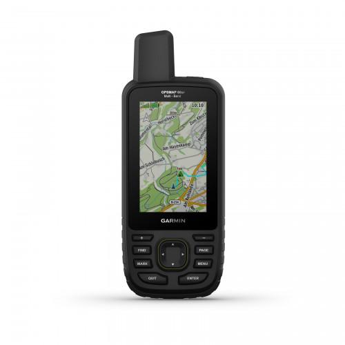 Garmin GPS Map 66SR 1.50K Bundle