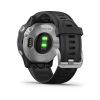 Garmin Fenix 6s Sport Silver with Black Band    010-02159-01   *EXCLUSIVE*