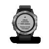 Garmin Fenix 6 Sport Silver with Black Band    010-02158-00    *EXCLUSIVE *
